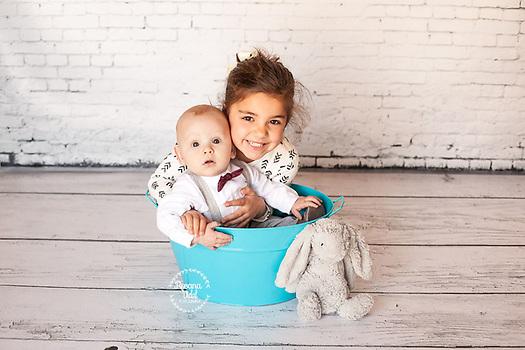 retrato de bebes